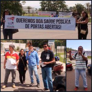 Representantes dos trabalhadores exigem que governo cumpra promessa de aproveitar no novo hospital concursados provenientes do Luiz Viana Filho