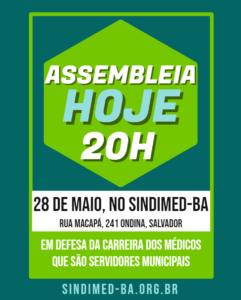 Assembleia 28 maio