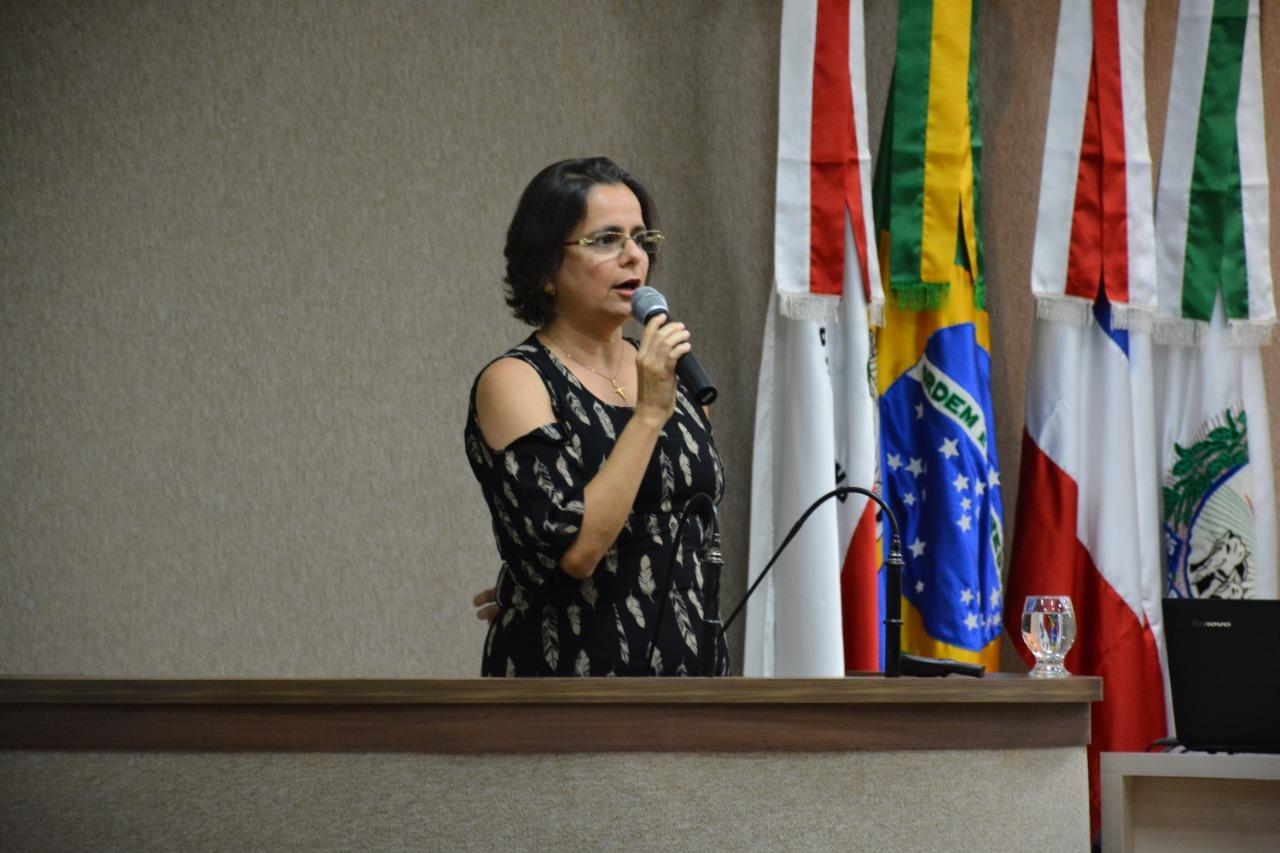Presidente do Sindimed-BA, Dra. Ana Rita de Luna Freire Peixoto