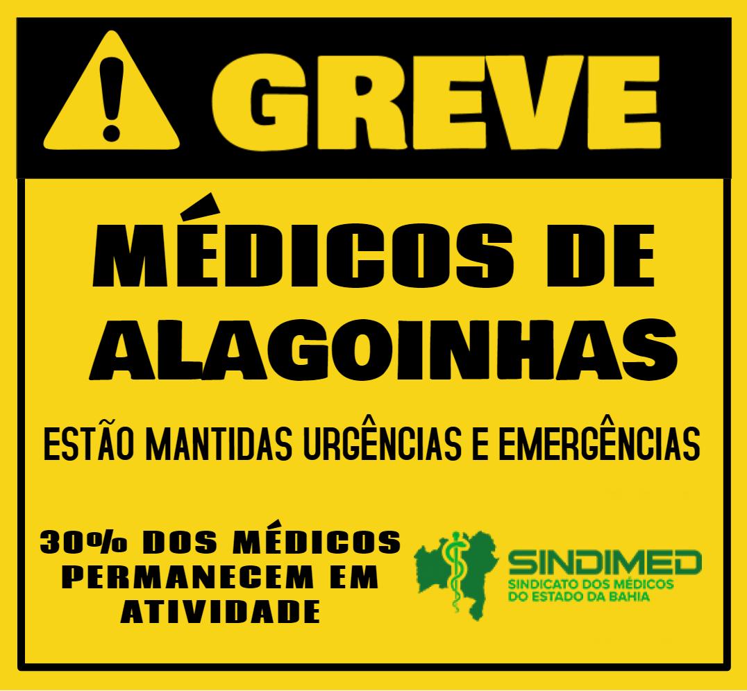 """Médicos de Alagoinhas entram em greve a partir desta quinta (11) Médicos de Alagoinhas decretam greve no município a partir desta quinta-feira (11). Insegurança contratual e salários atrasados foram determinantes para a decisão unânime. Em assembleia realizada no Sindimed, na última quinta-feira (4), os médicos de Alagoinhas deram inicio a um estado de greve no sentido de aguardar até ontem (10) pelos pagamentos devidos. No entanto, os credores não realizaram os pagamentos forçando os profissionais a entrarem em greve. O principal motivo para a decisão tem a ver com a insegurança dos contratos e a troca constante de empresa gestora que presta serviço à prefeitura. Os médicos relataram que só de agosto de 2018 até agora já foram três empresas contratadas para gerir os contratos. Essa """"dança das cadeiras"""" faz com que a inadimplência dos contratantes seja recorrente. A Rede Saúde deixou os médicos com prejuízo de um mês de salário e a Associação de Proteção à Maternidade e à Infância (APMI), até o momento, não pagou o mês de janeiro deste ano. Por outro lado, a mais recente empresa à frente dos trabalhos é a ASM, que ainda não apresentou nem firmou nenhum contrato de trabalho com os profissionais. Como medidas imediatas, o Sindimed notificou, através de oficio, o prefeito de Alagoinhas, Joaquim Neto, bem como as empresas supracitadas. Outro encaminhamento foi a solicitação de uma audiência com a secretária de saúde do município, Rosania Rabelo. Entre os serviços de saúde nos quais trabalham médicos com vínculos precários estão CAPS, PSF, Policlínica e SAMU. Os advogados do Sindimed estão acompanhando e orientando os médicos acerca dos contratos precários e sobre as armadilhas das falsas cooperativas."""