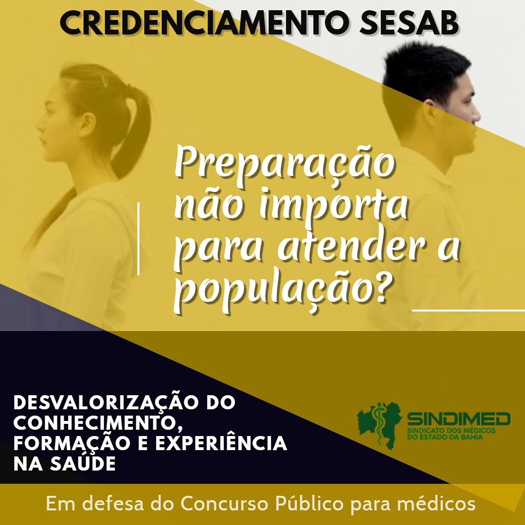 O Governo do Estado da Bahia promove uma desvalorização da trajetória profissional do médico. A proposta de alternância e seleção por sorteio, não tem critérios que valorizem a formação e o esforço. Além do mais, a pejotização não resolve os problemas da saúde, na Bahia. #emdefesadoconcursopúblico #concursopúblico #médicosdaBahia #SindimedBA