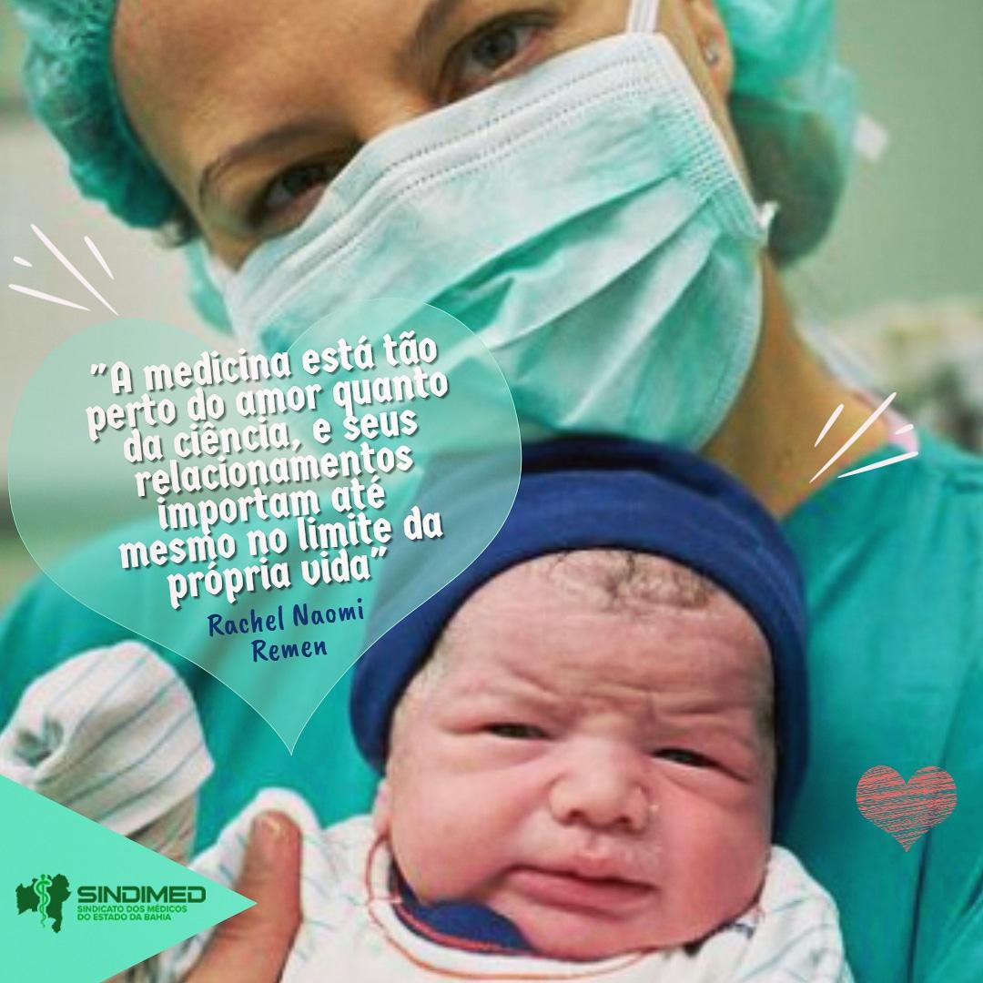 Cuidar é uma amorosa missão. Uma boa semana para todos. #SindimedBA #médicos #medicina