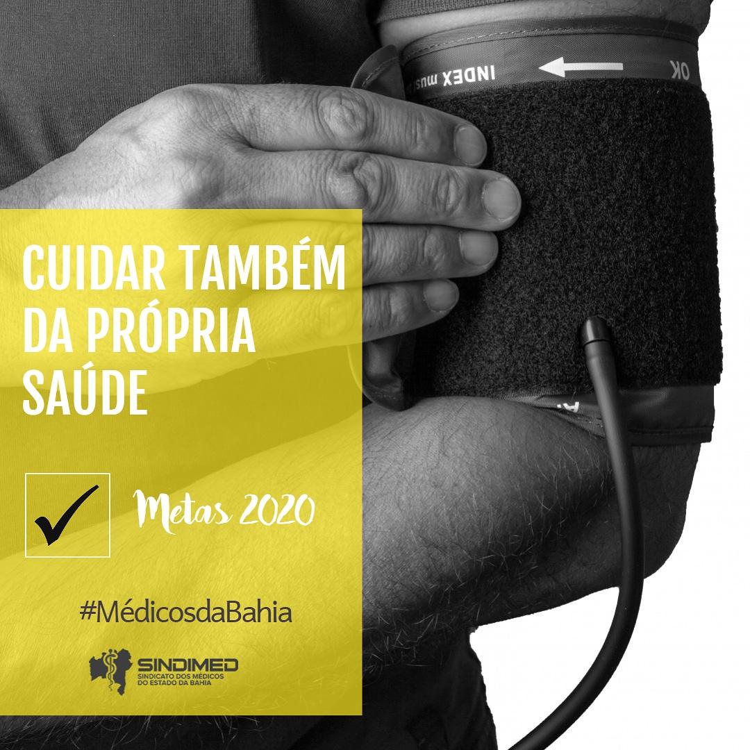 Metas para 2020. #metas2020 #médicos #médicosdaBahia #médicos2020 #SindimedBA #anonovo #felizanonovo