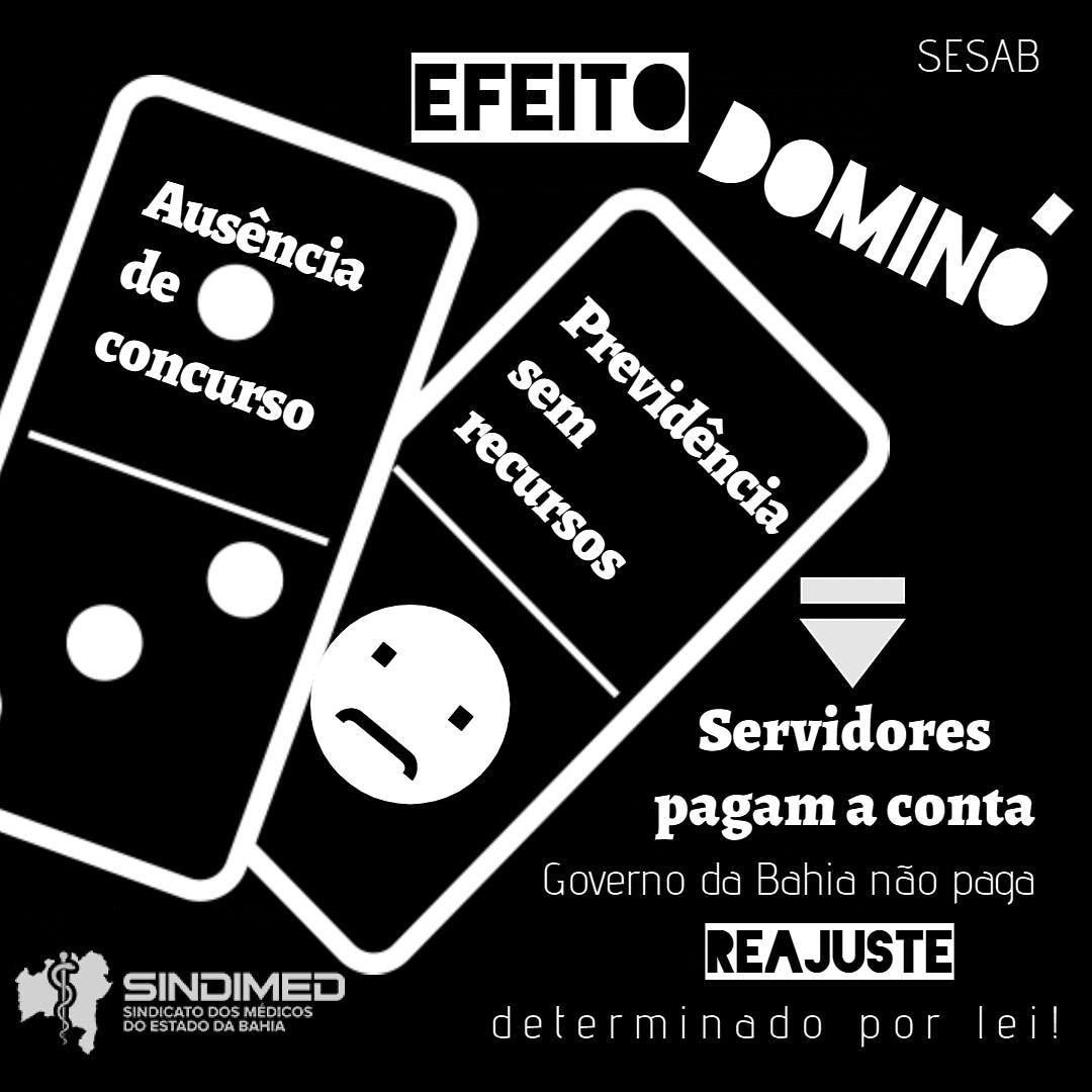 Servidores da Bahia paga conta da ausência de concurso