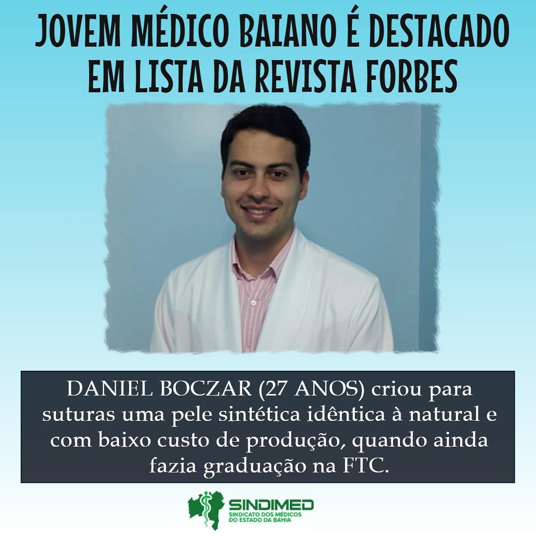 Jovem médico baiano é listado pela Forbes