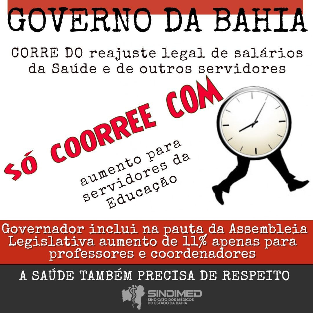 Governo corre do reajuste legal dos Servidores