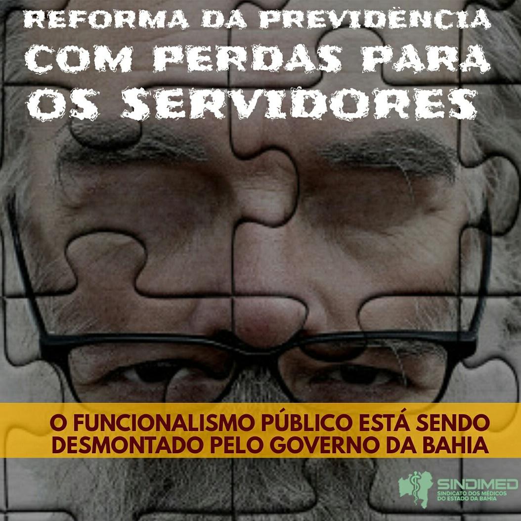 Reforma da Previdência com perdas para servidores do Estado