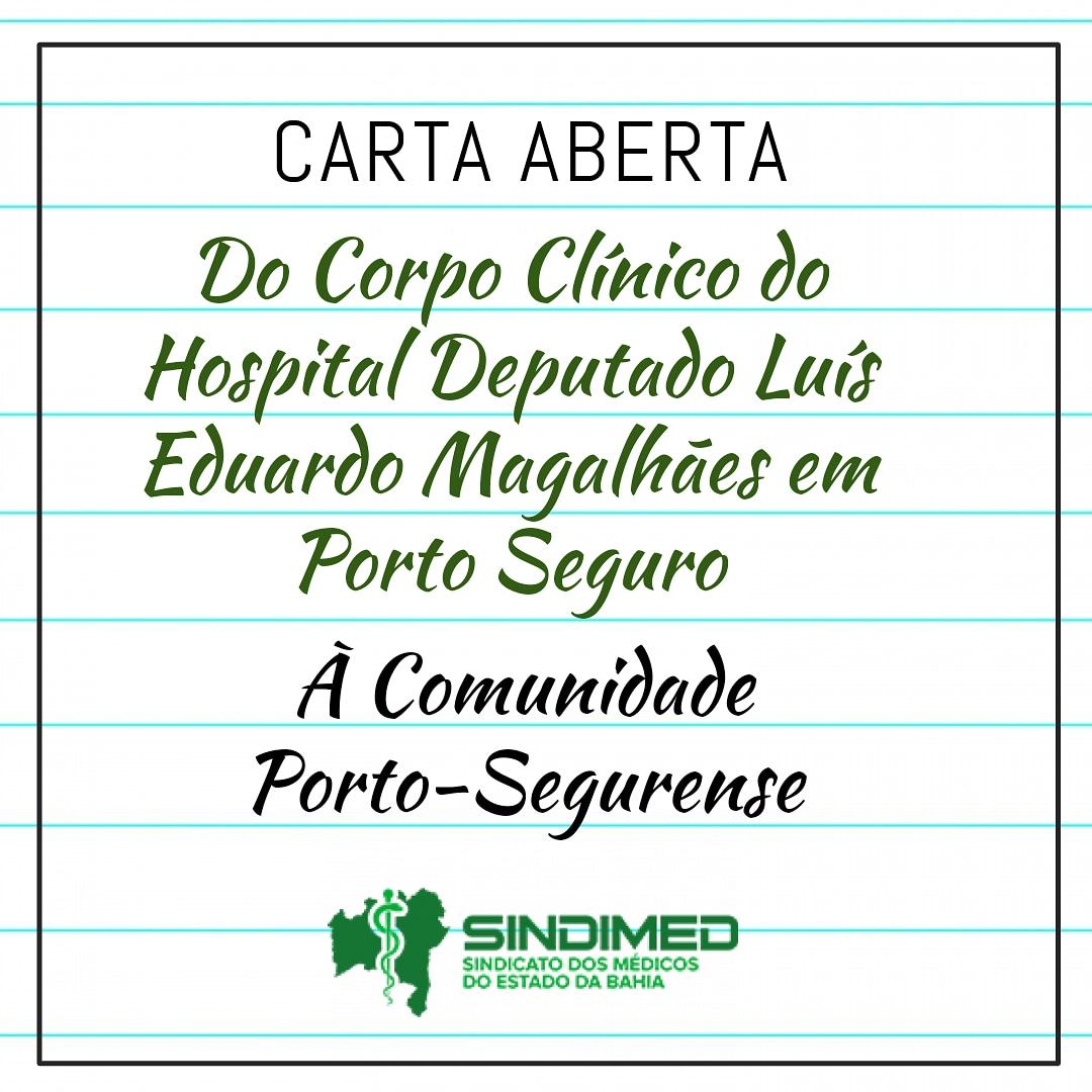 Médicos do Hospital Luís Eduardo Magalhães em Porto Seguro