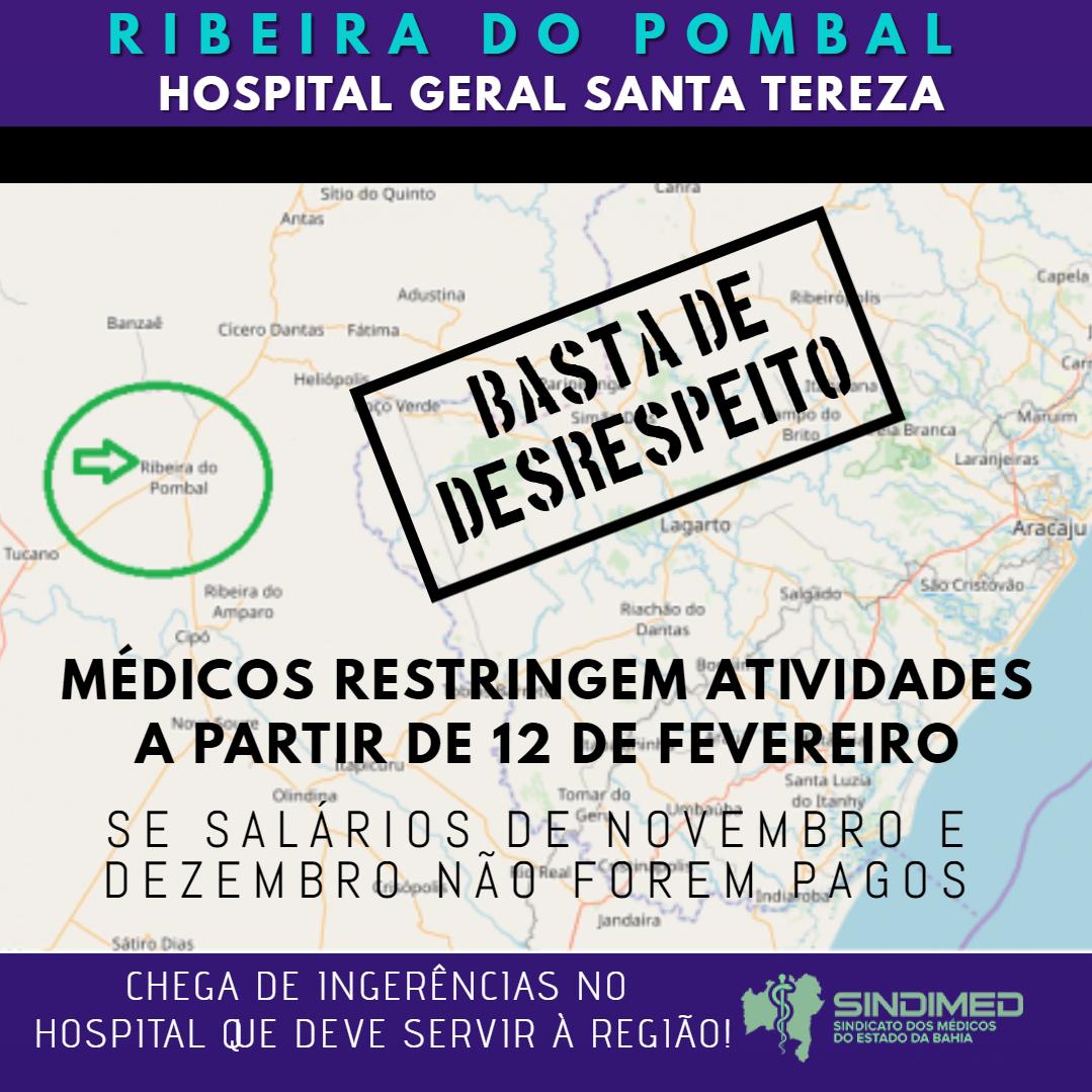 Paralisação dos Médicos em Ribeira do Pombal