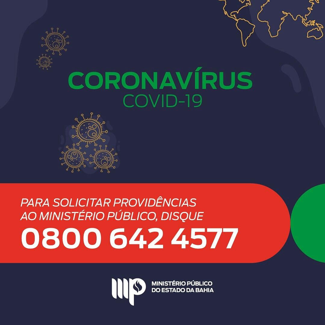 Ministério Público: número de telefone para providenciar providências