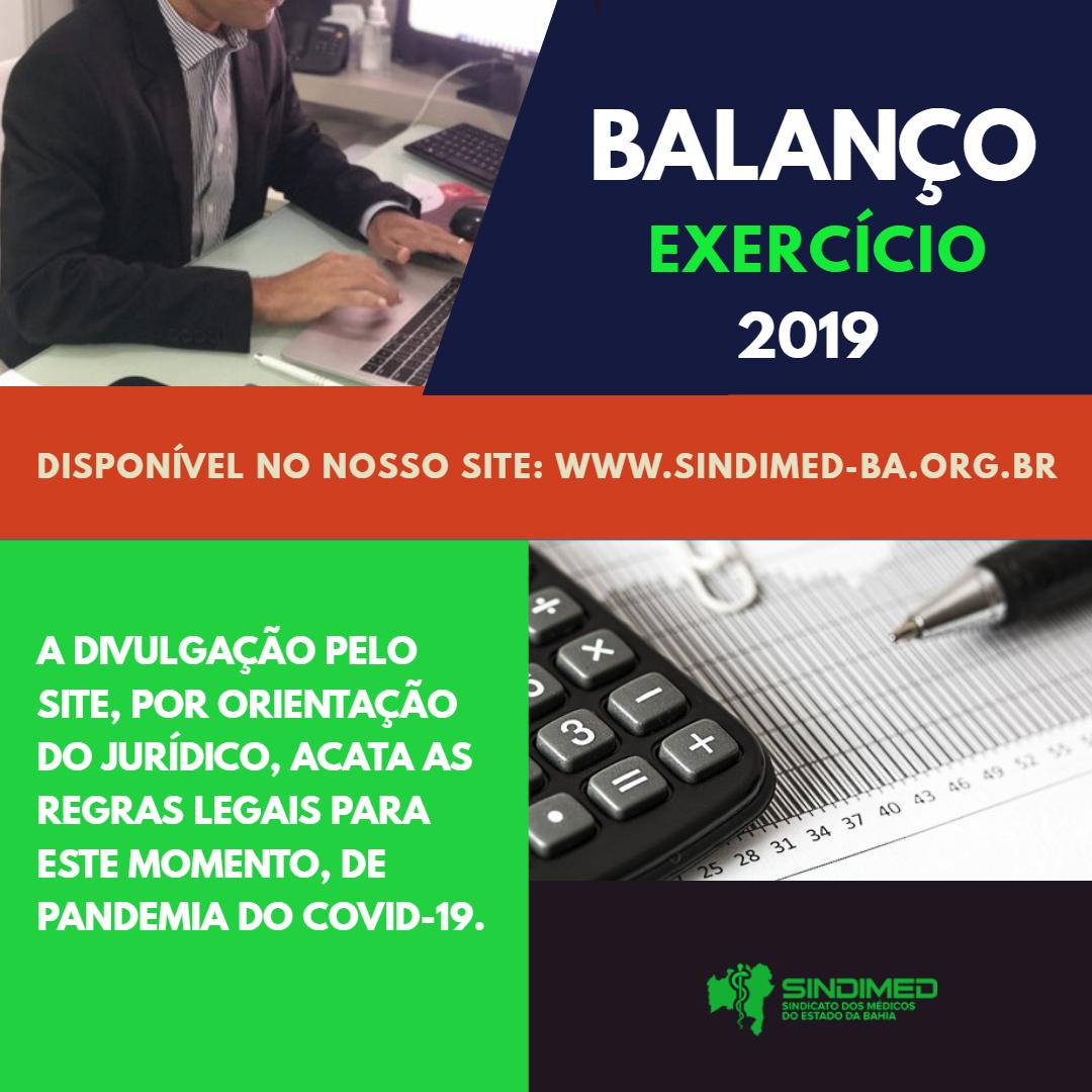 Balanço - 2019