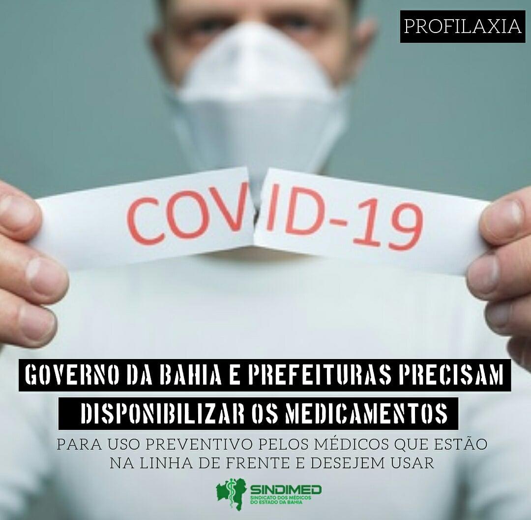 Covid 19: Governo da Bahia e prefeitura precisam disponibilizar medicamentos