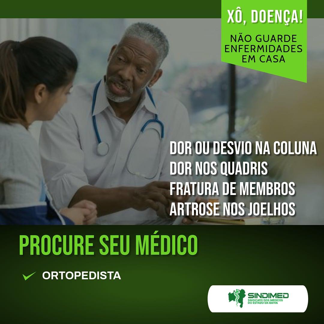 O médico ortopedista é o especialista responsável por diagnosticar, tratar e acompanhar lesões que acometem o sistema locomotor do ser humano. Ou seja, Trata de doenças e traumas que atingem músculos, articulações, ossos e ligamentos. #ortopedista #ortopedistas #ortopedistainfantil #ortopedistajoelho #ortopedistadecoluna #ortopedistapediátrico #ortopedistaespecialista #ortopedistaombro #ortopedistaesportivo #ortopedia #joelho #ombro #postura #secuidebem #autocuidado #medicos #medicina #medico #medicine #médicos #sindimedba #sindimed #sindimedbahia #médicosdabahia #saudeemprimeirolugar #prevenção #bahia