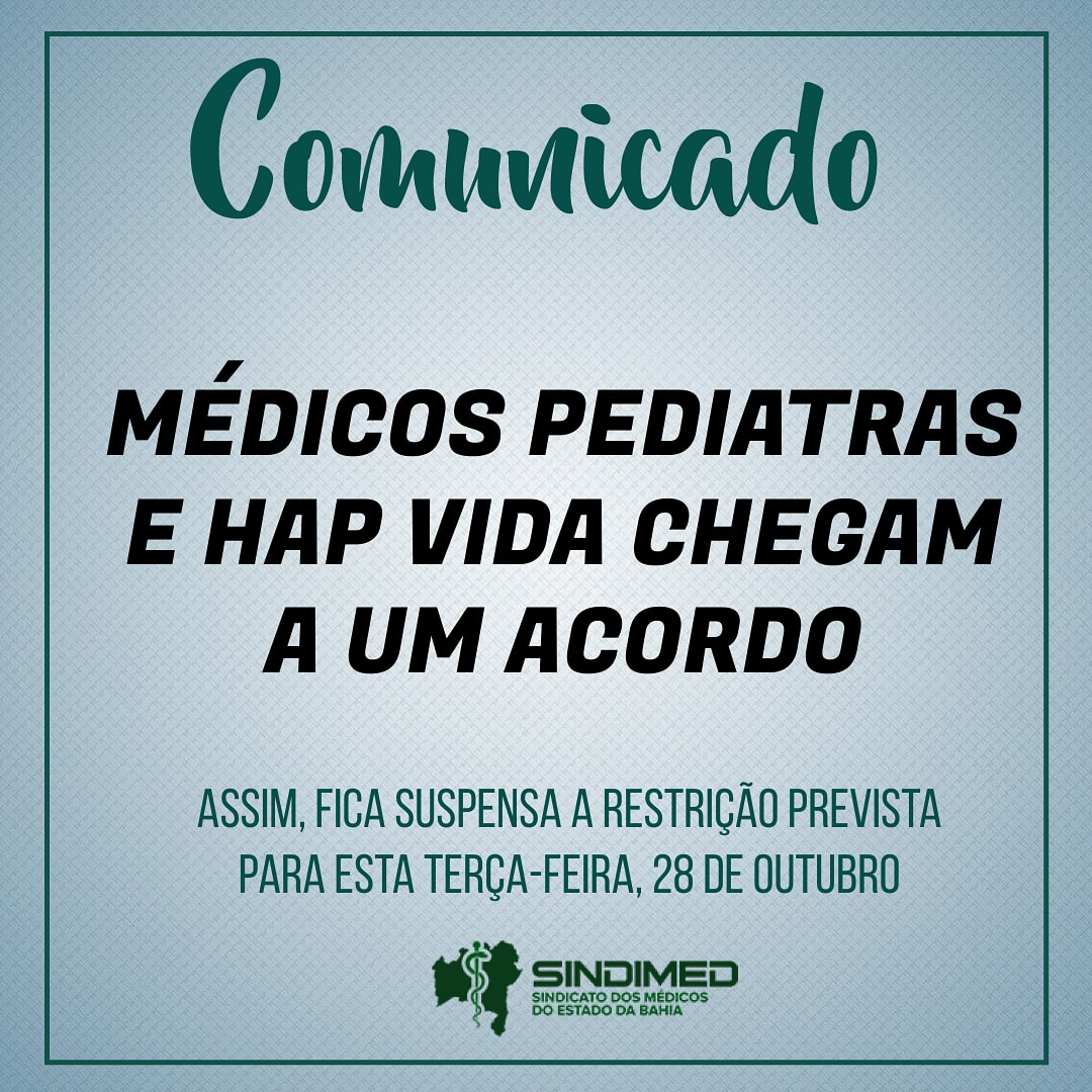 #hapvidabahia #pediatras #pediatrasalvador #pediatria #pediatra #pediatrabahia #hapvida #sindimedba #sindimedbahia #médicosdabahia #medicina #sindimed #médicos #saude