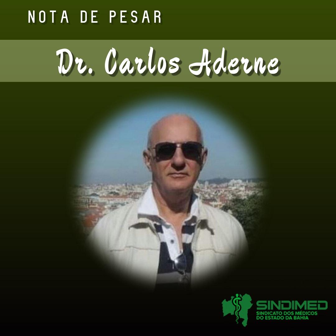Com pesar, o Sindicato dos Médicos do Estado da Bahia informa a morte do Dr. Carlos Aderne. Ele atuava em Itaberaba, como médico endoscopista e colonoscopista. O Sindimed se solidariza com familiares e amigos. #notadepesar #médicodabahia #medicina #luto