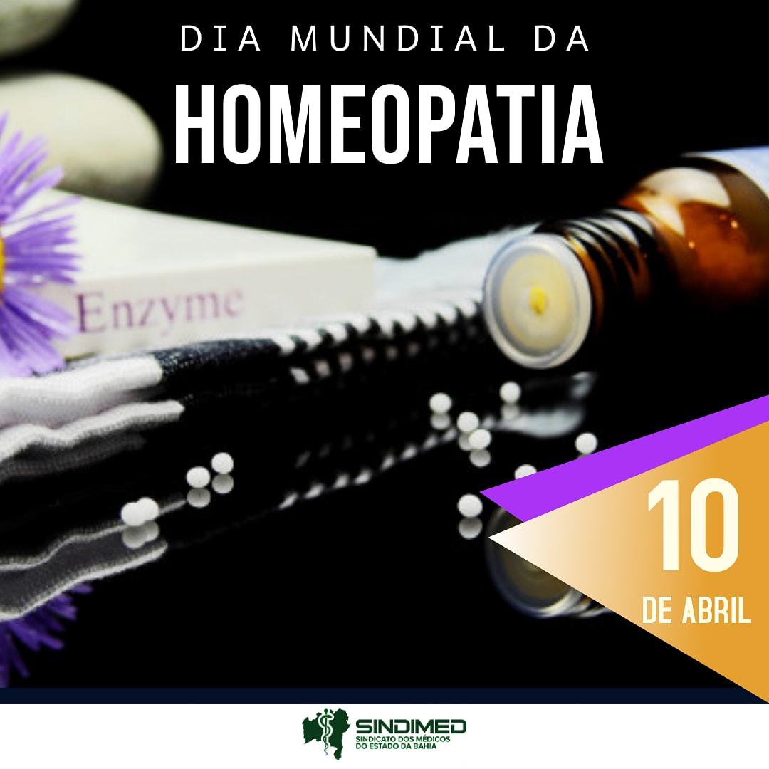 Hoje é o Dia Mundial da Homeopatia. Nossa homenagem a todos os médicos homeopatas. Em 10 de abril de 1755, nasceu Samuel Hahnemann, que buscava reduzir efeitos colaterais de tratamentos. No Brasil, a homeopatia começou por volta de 1840, embora existissem médicos homeopatas anteriormente. Segundo a Associação Médica Homeopática Brasileira, há atualmente residência médica nesta especialidade em diversos estados e cerca de 2 mil especialistas no país.