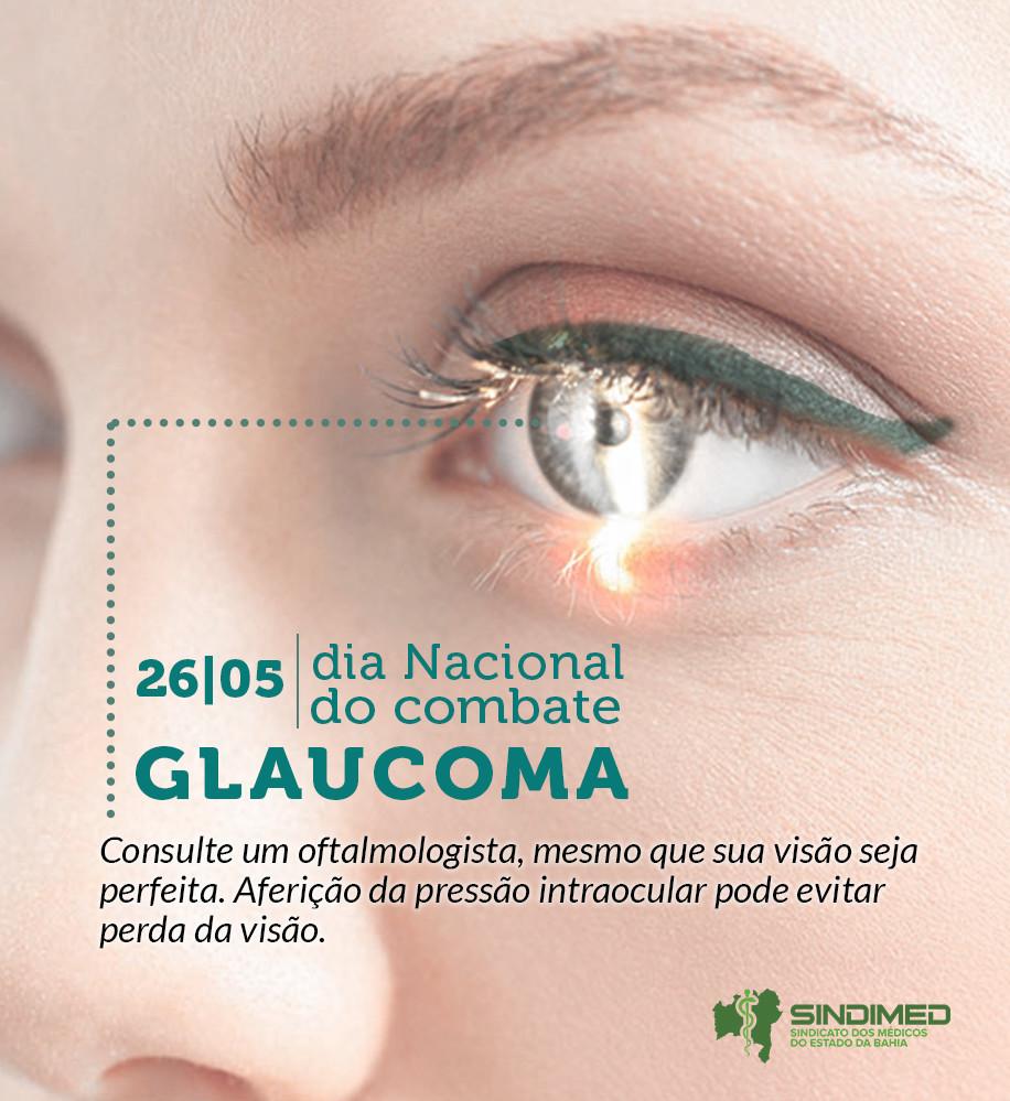 """A melhor maneira de prevenir o glaucoma é consultar um médico oftalmologista pelo menos uma vez por ano. Conscientizar a população em geral sobre a importância do diagnóstico precoce desta doença, que é considerada """"silenciosa"""", é um dos principais objetivos desta data. O glaucoma é uma doença provocada pela elevação da pressão ocular. Não tem cura e, se não tratada, pode levar à cegueira. A doença pode se desenvolver durante meses ou anos sem apresentar nenhum sintoma, sendo percebida somente na fase mais avançada, quando a pessoa está perdendo a visão periférica (vê bem o que está na sua frente, mas não enxerga o que está dos lados). Pessoas que têm parentes portadores de glaucoma, indivíduos com mais de 40 anos, pacientes com alto grau de miopia e diabéticos devem estar ainda mais atentos à realização dos testes de rotina. De acordo com dados da Organização Mundial da Saúde – OMS, estima-se que o glaucoma afete entre 1% e 2% da população com mais de 40 anos em todo o mundo, o que representaria cerca de 3 milhões de pessoas. O glaucoma é diagnosticado quando a pessoa faz exame oftalmológico cuidadoso e o médico mede a pressão intraocular. Às vezes podem ser necessários outros exames, como de fundo de olho e campo visual. Após o diagnóstico, o tratamento vai desde a utilização de colírios, que baixam a pressão ocular, a cirurgias e ao uso do laser. É uma doença crônica e sem cura, mas pode ser controlada com o uso de medicamentos."""
